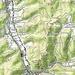 Karte mit der Route (Kartengrundlage: opentopomap.org).