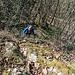 Wie auch auf unseren bisherigen Kraxeleien im Schwarzwald sind wir hier auf zutage getretenem, verwittertem Grundgebirge aus Granit unterwegs, das oft in Form von langgezogenen Rippen und kleinen Graten im Wald versteckt liegt.