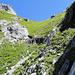 Tiefste Stelle Grat zum Vorder Walenstock (Abstieg Planggenegg)