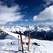 Links Valbellahorn, Blick Richtung Monstein und Piz Kesch