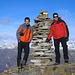 Das Alpinduo auf dem Pizzo di Vogorno 2442m