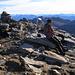 Gipfel des Pizzo di Vogorno 2442m