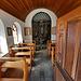 Intérieur de la chapelle de Chastolegga.