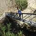Brückenkonstruktion am Aabach