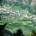 Am Aufstieg ins Val Cramosino - Giornico von oben