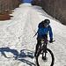 SCM auf einem Schneefeld