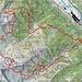 Ungefähre Route Afata - Bassa di Pertüs