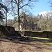Grillplatz vor der Burg