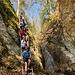 ... zur Leiter am Wasserfall des Rickenbachs