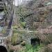 Sandsteintreppe und alte Weganlage an der Wesenitz