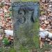 Historische Steinbruchnummerntafel