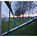 Sonnenaufgang auf dem Sportplatz