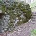 Abri Allemand de la première guerre ; construit en partie avec les pierres de l'ancien Château .