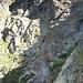 Absteigende Bergsteiger