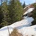 Der Gipfelrundweg ist derzeit noch nur Alpinisten zu empfehlen