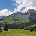 Sichelchamm von der Alp Castilun aus (Aufnahme 2020)
