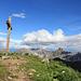 Blick von der Geißspitze zur Zimba