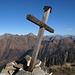 Gipfelkreuz auf dem Corno di Gesero