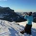Sommet du Sittenegg, pas bien prestigieux, mais quel ski !