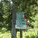 Inzwischen habe ich den breiten Sattel zwischen Kl. Arber und Enzian erreicht und kurz überlegt, ob ich noch zum Enzian gehen will oder nicht. Von hier sind es über den Kleinen Arber noch 10 km zum Parkplatz mit Enzian hin und zurück nochmal fast zwei Kilometer. Bei meiner Skitour über den Kl. Arber habe ich den Enzian schon mal links liegen lassen, das will ich heute gut machen.