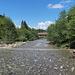 Grossbach bei Ijenschatten. Hier gibt es eine schöne Holzbrücke