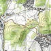 Karte mit der eingezeichneten Route (Kartengrundlage: opentopomap.org)