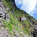 Die westseitige Umgehung des Bützistock: Der Abstieg ist T5