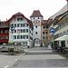 Blick in die Altstadt von Willisau.