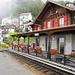 Der Bahnhof von Finhaut.