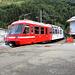 Der Mont-Blanc-Express fährt in Le Chatelard ein und bringt uns nach Martigny.