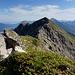 Weiterer Gratverlauf zur Hinteren Steinkarspitze