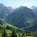 Blick zum Bacino di Val Malvaglia und Pizzo Caldözz