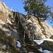 Die Leiter am Gipfelaufschwung