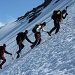 Finaler Aufstieg zum Rheinwaldhorn