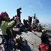 Auf dem Gipfel des Rheinwaldhorn / Adula 3402.2m
