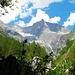 Ins einsame Baltschiedertal führen von Ze Steinu sehr lange Aufstiege zur [http://www.hikr.org/tour/post7367.html Baltschiederklause] und zum [http://www.hikr.org/tour/post26164.html Stockhornbiwak]