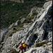 Das Kalksandsteingebirge ist ein Eldorado für Kletterer, besonders im Winterhalbjahr.