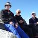 Stefan, Sabine und Patrick auf dem Gross-Leckihorn (Bild von Stefan)