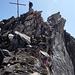 Patrick noch auf dem Gipfel des Gross-Leckihorn (Bild von Stefan)