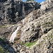 Wasserfall am Talschluss