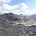 Weglos unterwegs zum Sattel zwischen Piz Pischa und Piz Prüna. Hier auf ungefähr 2900m Höhe.