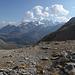 Hier fängt der Abstieg vom Pischa-Plateau an. Es sind jetzt 650 Höhenmetern ab zu steigen.
