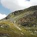 Links der Hennesattel, rechts über den Grat zum Hennekopf (2704m)