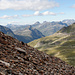 Abstieg zum Radsattel (2652m)