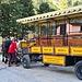Mit dem Pferde - Omnibus gehts nach Pontresina