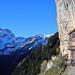 Am Berggasthaus Äscher ist es zur Zeit noch einigermassen ruhig
