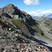 Blick vom Col de Vijivi auf Turtmannspitz