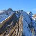 Zoom zum Säntis vom Schäfler Gipfel, einer der schönsten Ausblicke im Alpstein