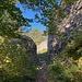 Eingangsbereich der Ruine Scheidegg.<br /><br /><br />