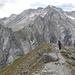 Die Möräne aus dem 17. Jahrhundert. Mit was für einer Gewalt muss sich damals der Bresciana-Gletscher in das Val Soi ergossen haben.